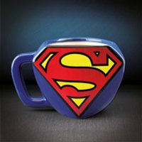 DC Comics Superman Shaped Mug