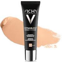 VICHY Dermablend [3D Correction] Fluid Foundation 30ml (Various Shades) - Nude 25