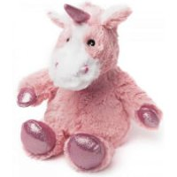 Warmies Cozy Heatable Plush Sparkly Unicorn - Pink - Sparkly Gifts