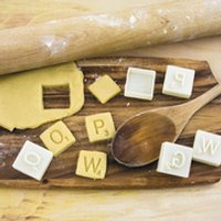 Scrabble Cookie Cutters - Scrabble Gifts