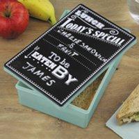 Chalkboard Lunch Tin