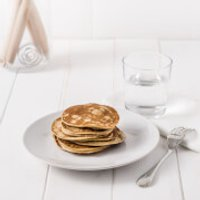 Meal Replacement Maple Syrup Pancakes
