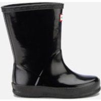 Hunter Toddlers First Gloss Wellies - Black - UK 8 Toddler - Black