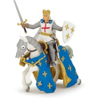 Papo Medieval Era: Saint Louis and His Horse - Horse Gifts