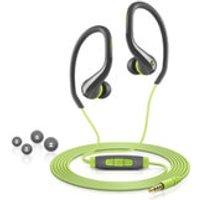 Sennheiser OCX 684i Sports Earphones Inc In-Line Remote and Mic (Apple) - Green - Earphones Gifts