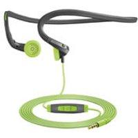 Sennheiser PMX 684i Sports Neckband Earphones Inc In-Line Remote and Mic (Apple) - Green - Earphones Gifts