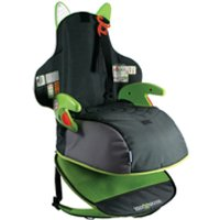 Trunki BoostApak Car Seat - Black/Green