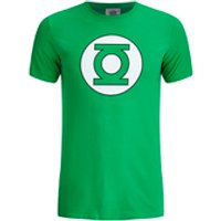DC Comics Mens Green Lantern Mens Logo T-Shirt - Green - S - Green