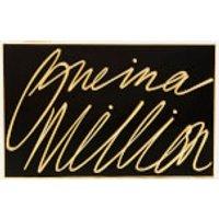 Lulu Guinness Womens Olivia One In A Million Clutch - Black/Gold