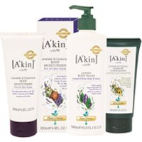 Akin Hair and Body Lavender Trio (Worth 40.00)