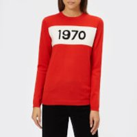 Bella Freud Women's 1970 Merino Jumper - Red - L