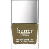 butter LONDON Patent Shine 10X Nail Lacquer 11ml - British Khaki