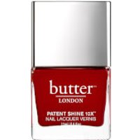 butter LONDON Patent Shine 10X Nail Lacquer 11ml - Her Majestys Red
