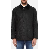 Barbour Heritage Mens Ashby Waxed Jacket - Black - S - Black