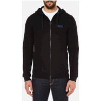 Barbour International Mens Small Logo Hoody - Black - S - Black
