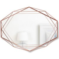 Umbra Prisma Geometric Mirror - Copper - Umbra Gifts