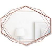 Umbra Prisma Geometric Mirror - Copper