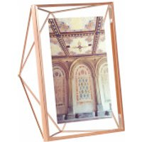 Umbra Prisma Photo Frame - Copper - 5 x 7 (13 x 18cm)
