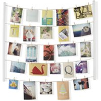 Umbra Hangit Photo Display - White - Umbra Gifts