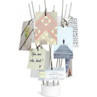 Umbra Fotofan Desk Photo Display - White - Umbra Gifts