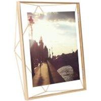 Umbra Prisma Photo Frame - Matt Brass - 8 x 10