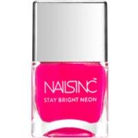 nails inc. Claridge Gardens Nail Polish - Neon Pink 14ml