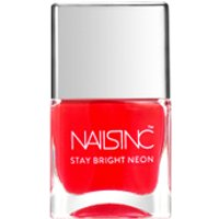 Nails Inc. Great Eastern Street Nail Polish - Neon Coral 14ml