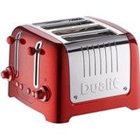 Dualit 46281 Lite 4 Slot Toaster - Metallic Red