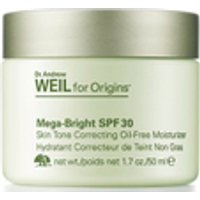 Origins Dr. Andrew Weil for Origins Mega-Bright SPF 30 Skin Tone Correcting Oil-Free Moisturiser 50ml
