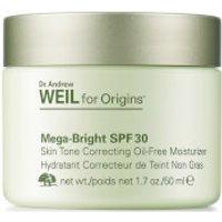 Origins Dr. Andrew Weil for Origins Mega-Bright SPF 30 Skin Tone Correcting Oil-Free Moisturiser 50ml