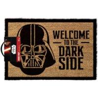 Star Wars Welcome To The Dark Side Doormat - Black (40 x 60cm)