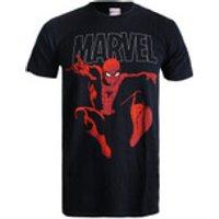 Marvel Spider Strike Mens T-Shirt - Black - M - Black