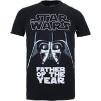 Star Wars Men's Father of the Year T-Shirt - Black - S - Black - Star Wars Gifts