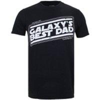 Star Wars Men's Galaxy's Best Dad T-Shirt - Black - S - Black - Star Wars Gifts