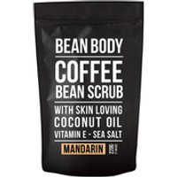 Bean Body Coffee Bean Scrub 220g - Mandarin