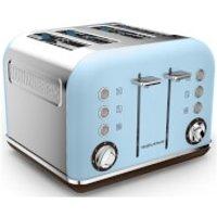 Morphy Richards 242100 Accents 4 Slice Premium Toaster - Azure