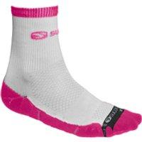 Sugoi RSR 1/4 Socks - Electric Salmon - L - Pink