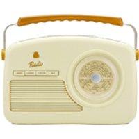 GPO Retro Rydell Portable DAB Radio - Cream