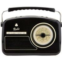 GPO Retro Rydell Portable DAB Radio - Black