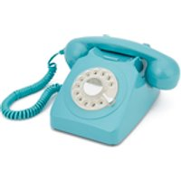 GPO Retro 746 Rotary Dial Telephone – Blue