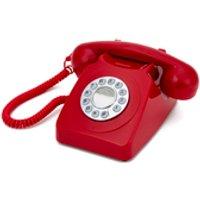GPO Retro 746 Push Button Telephone - Red