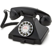 GPO Retro 1929S Classic Carrington Push Button Telephone - Black
