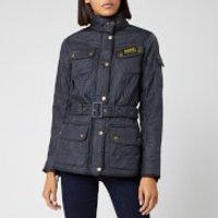 Barbour International Womens Polarquilt Jacket - Navy - UK 6