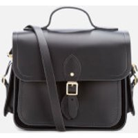 The Cambridge Satchel Company Womens Large Traveller Bag with Side Pockets - Black