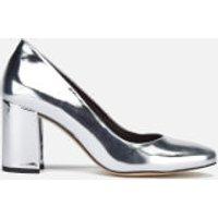 Dune Womens Acapela Metallic Court Shoes - Silver - UK 5 - Silver