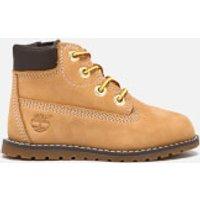 Timberland Toddlers' Pokey Pine 6 Inch Boots - Wheat Nubuck - UK 6 Toddler
