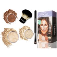 Bellapierre Cosmetics All Over Face Highlight & Contour Kit – Fair