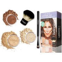 Bellapierre Cosmetics All Over Face Highlight & Contour Kit – Medium