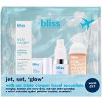 bliss Triple Oxygen Travel Essentials Set (Worth 57.00)