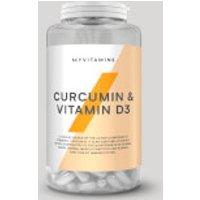 Myvitamins Curcumin & Vitamin D Capsules - 180capsules